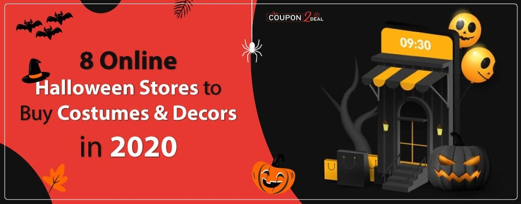 8 Online Halloween Stores to Buy Costumes & Decors in 2020