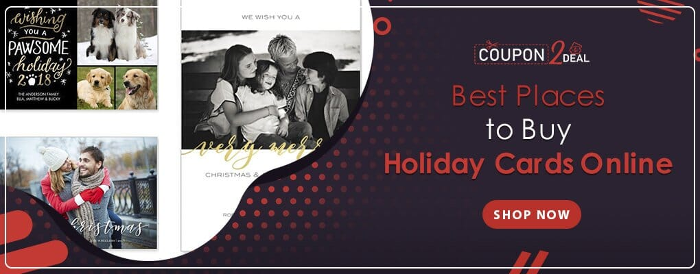 Best Places to Buy Holiday Cards Online