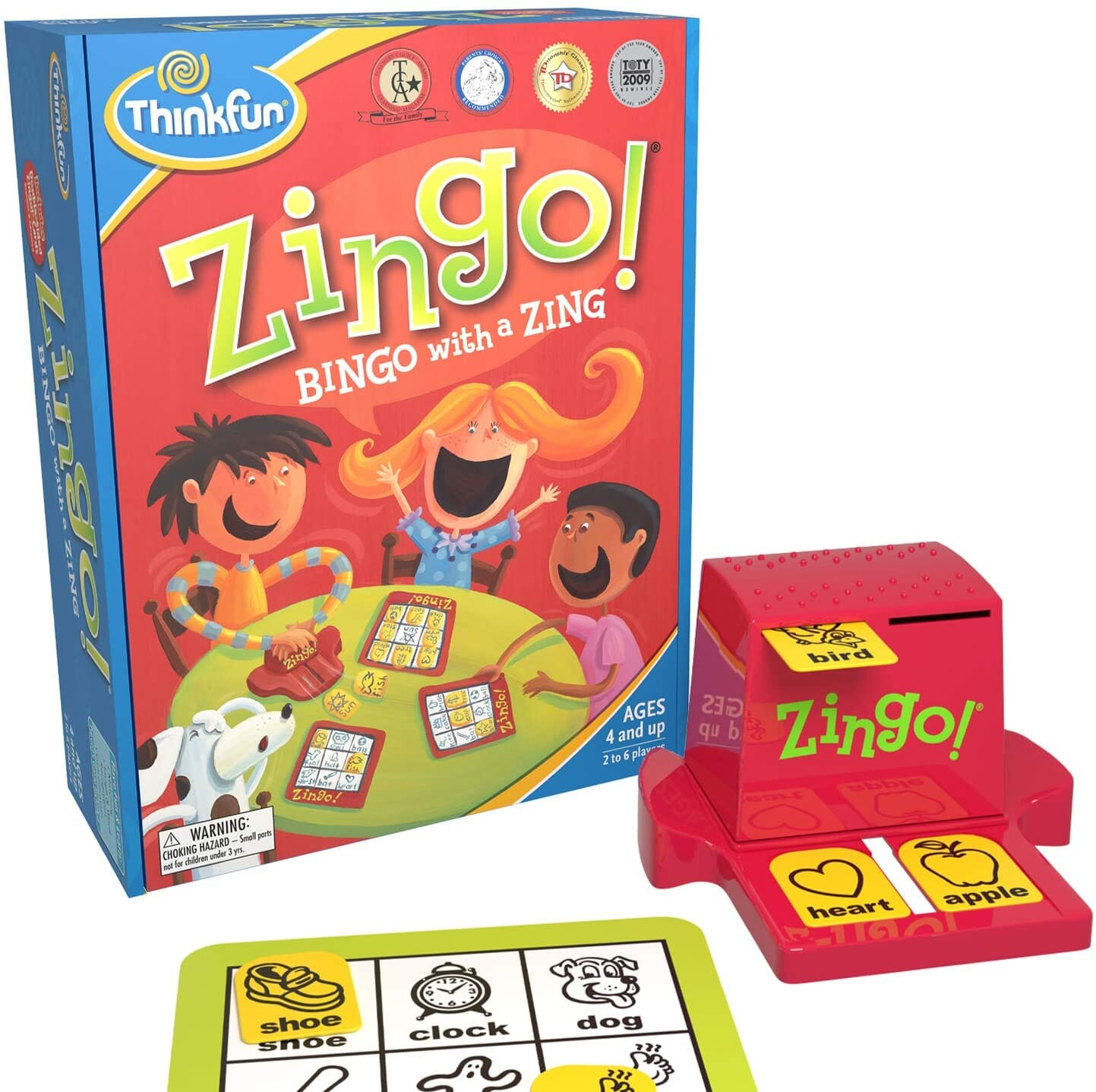 Zingo board game