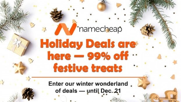 Holiday Deals are here — 99% off festive treats